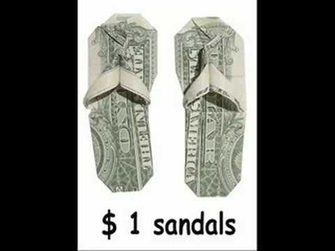 Origami money folds part 1 slideshow youtube publicscrutiny Image collections