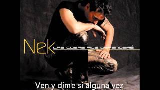 Nek - Laberinto (lyrics)