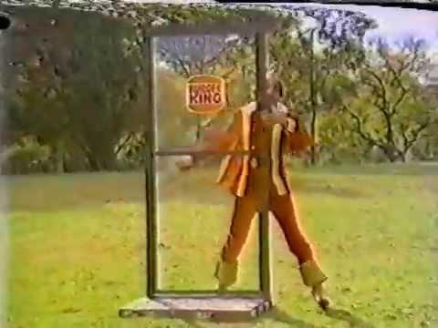 80's Ads: Burger King Magic Shavar Ross 1982