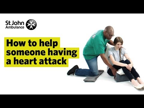 Heart Attack Symptoms & How to Treat a Heart Attack - First