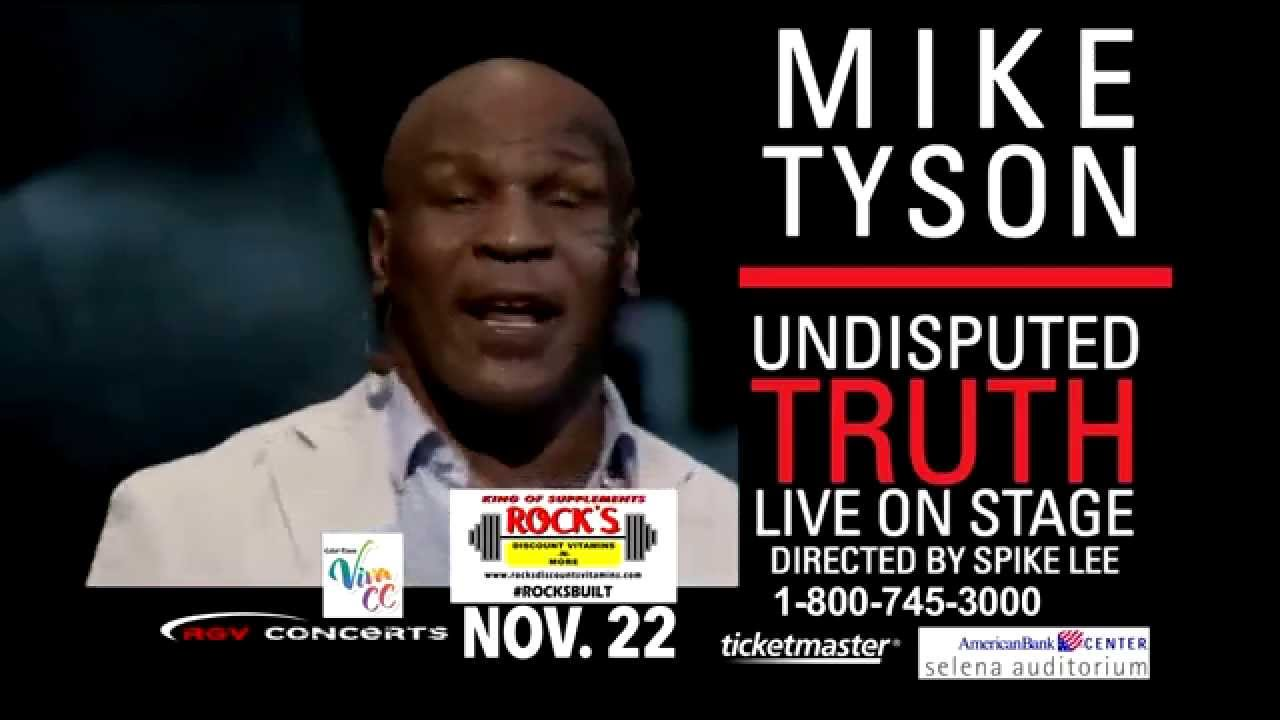 Mike Tyson Undisputed Truth Live November 22 2014 Youtube