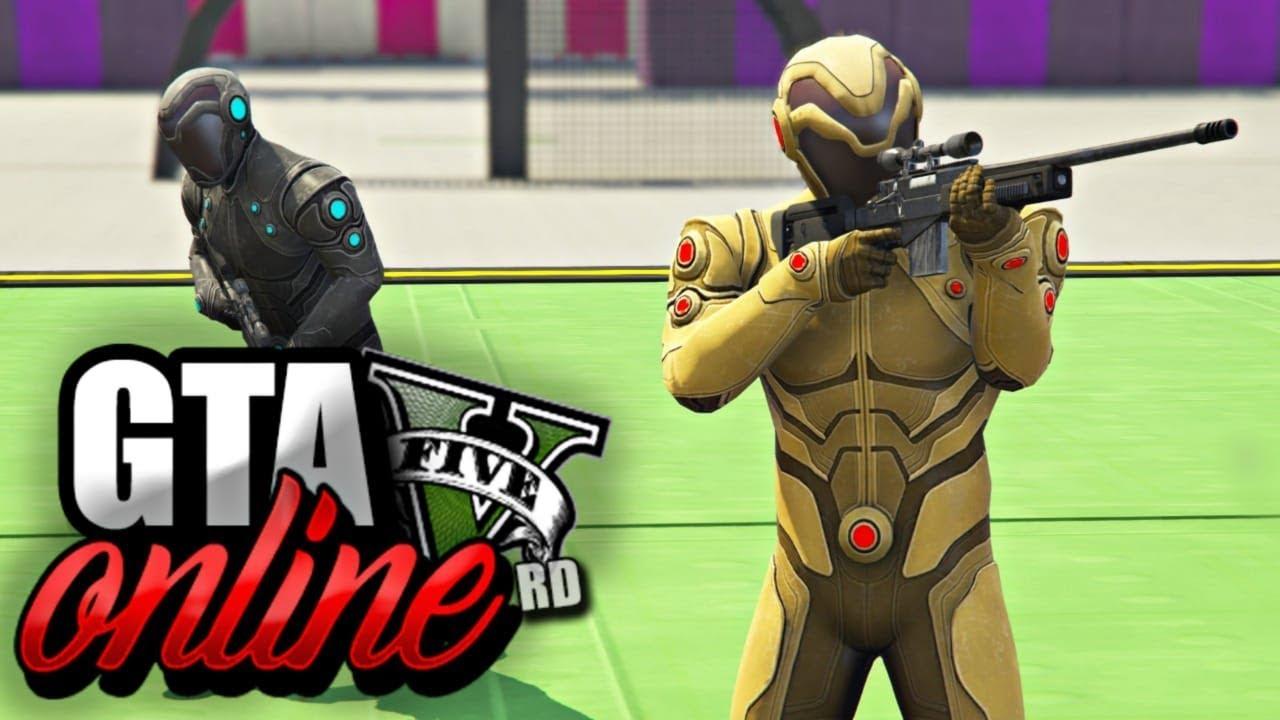 GTA 5 Online : EU MITEI MUITO Com a SNIPER! CARROS vs SNIPERS! ( INCRÍVEL )