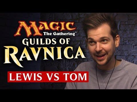 Magic The Gathering: Guilds of Ravnica | Lewis Vs Tom