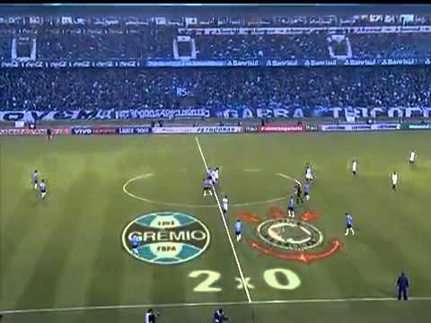 Grêmio 2 x 0 Corinthians - Brasileirão Série A - 10/06/2012