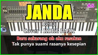 JANDA - Rena - Karaoke Qasidah ( Cover ) Korg pa3x