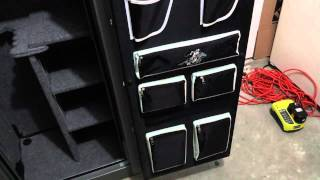 Winchester Gun Safe With Extras We Installed.