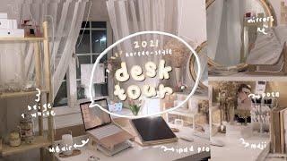 korean-style inspired DESK SETUP + TOUR 2021 🌷 aliexpress, manhwa decor, organising stationery 🇬🇧 screenshot 3