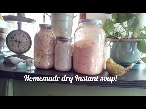 How To Make Your Own Instant Soup Mix!