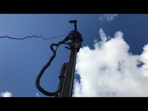 Drilling Rig with Drill Rod Handling System - HARDAB - Short Film