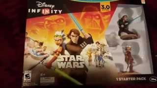 Disney Infinity 3.0 Starter Pack Unboxing  (Star Wars Wii U)