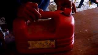 Préparer du mélange pour moteur 2 temps
