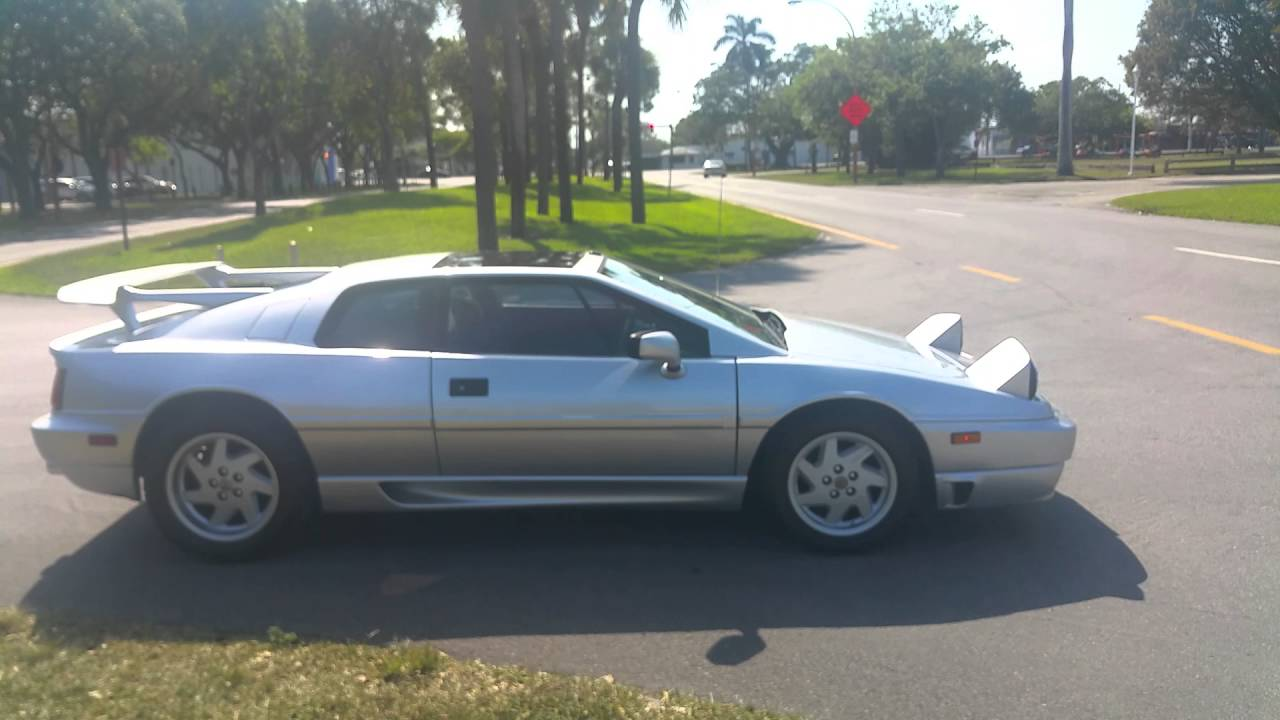 1992 lotus esprit s4 turbo for sale $39900 - YouTube