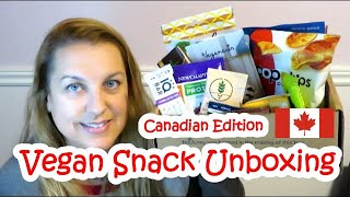 Vegan Snack Unboxing   Canadian Edition!