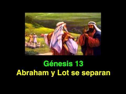 Genesis 13 Abraham Y Lot Se Separan Youtube
