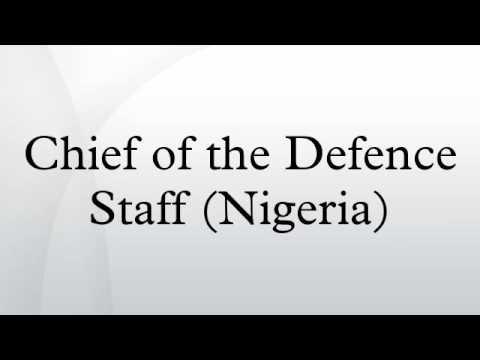 Chief of the Defence Staff (Nigeria)