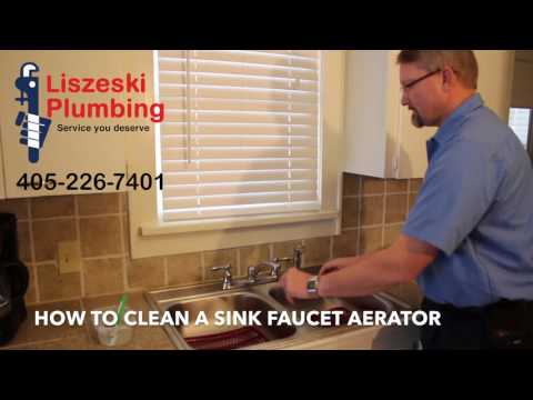 How to Clean a Sink Faucet Aerator