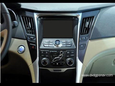 How To Install Hyundai Sonata Car Dvd Player Radio Gps Sat