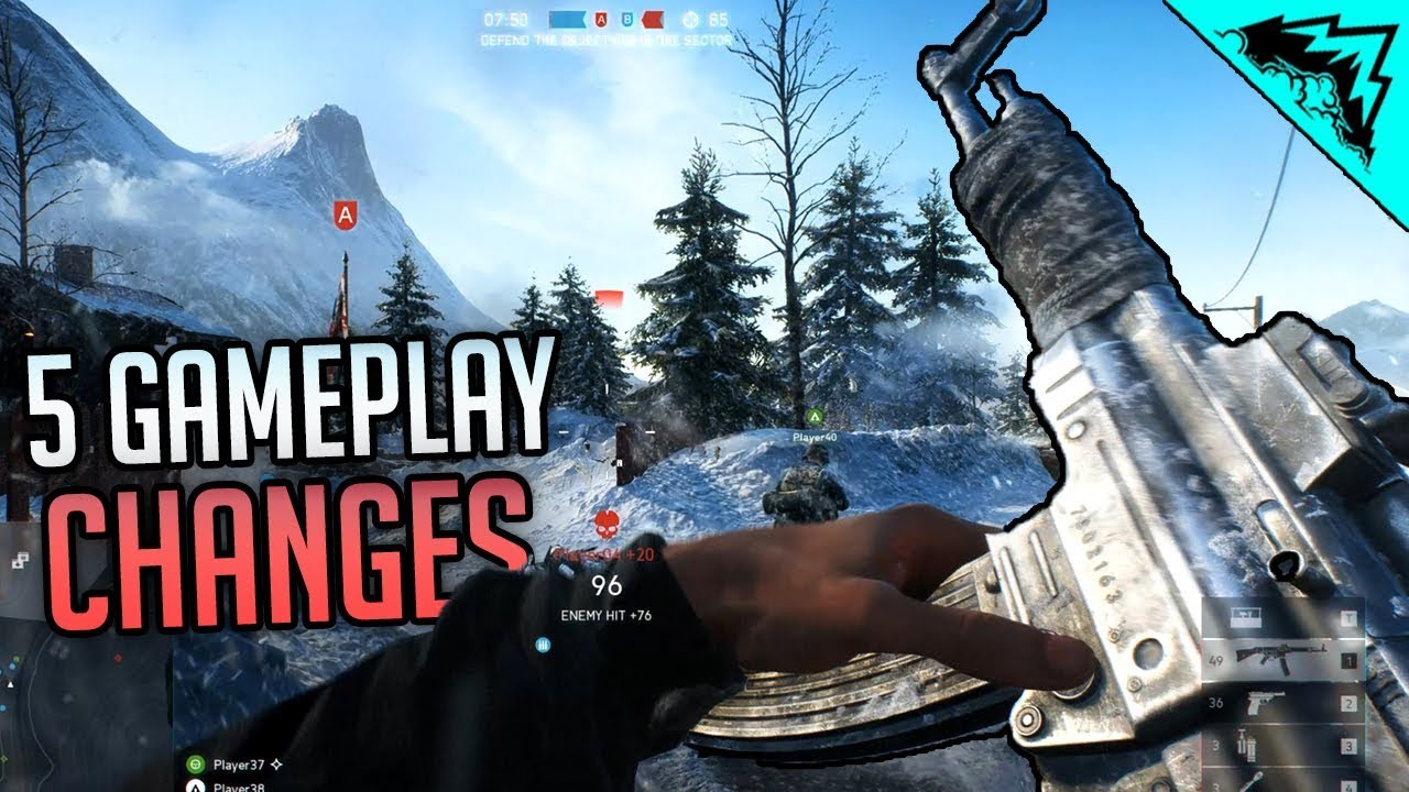 5 Gameplay Changes in Battlefield 5 (Battlefield 5 Gameplay)