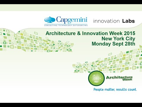 Capgemini Innovation & Architecture Week live from New York City