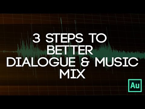 3 Easy Steps To Mix Dialogue And Music - Use Compression, EQ, And Level For A Better Mix!