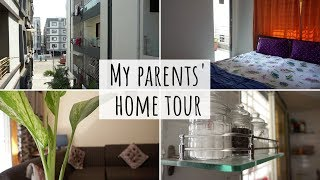 My Parents' Home Tour | Organised Indian Home Tour | Indian Apartment Tour | Home Tour Indian