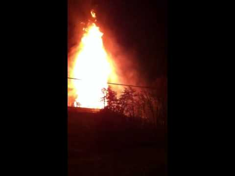 Gas Well Explosion