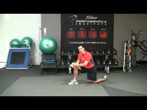 Golf Fitness Shoulder Integrity Exercise