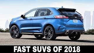 Top 10 Fastest Crossover SUVs on Sale Today Сomparing Main Speficiations