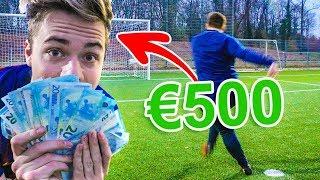 VOETBAL CHALLENGE VOOR 500 EURO!