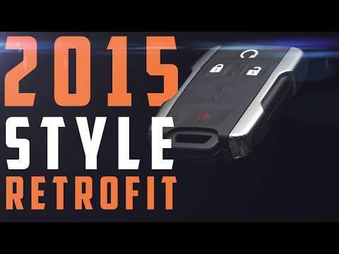 2015+ Style Chrome Key Fob Retrofit For (1999-2014) GM Trucks - Boost Auto Parts