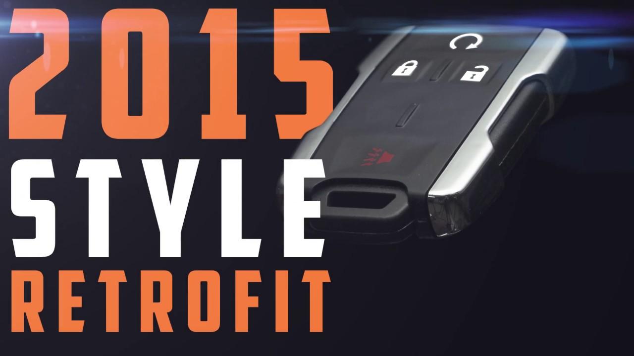 2015 Style Silverado & Sierra Key Fob Retrofit (1999-2014 GM