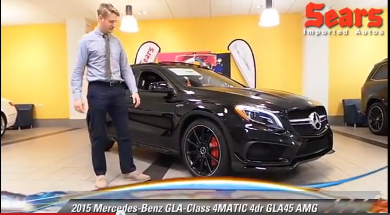 New 2015 mercedes benz gla class 4matic gla45 amg for Mercedes benz bloomington mn