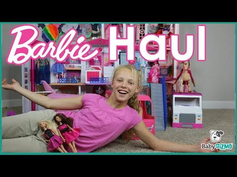 HUGE BARBIE DOLL TOY HAUL!