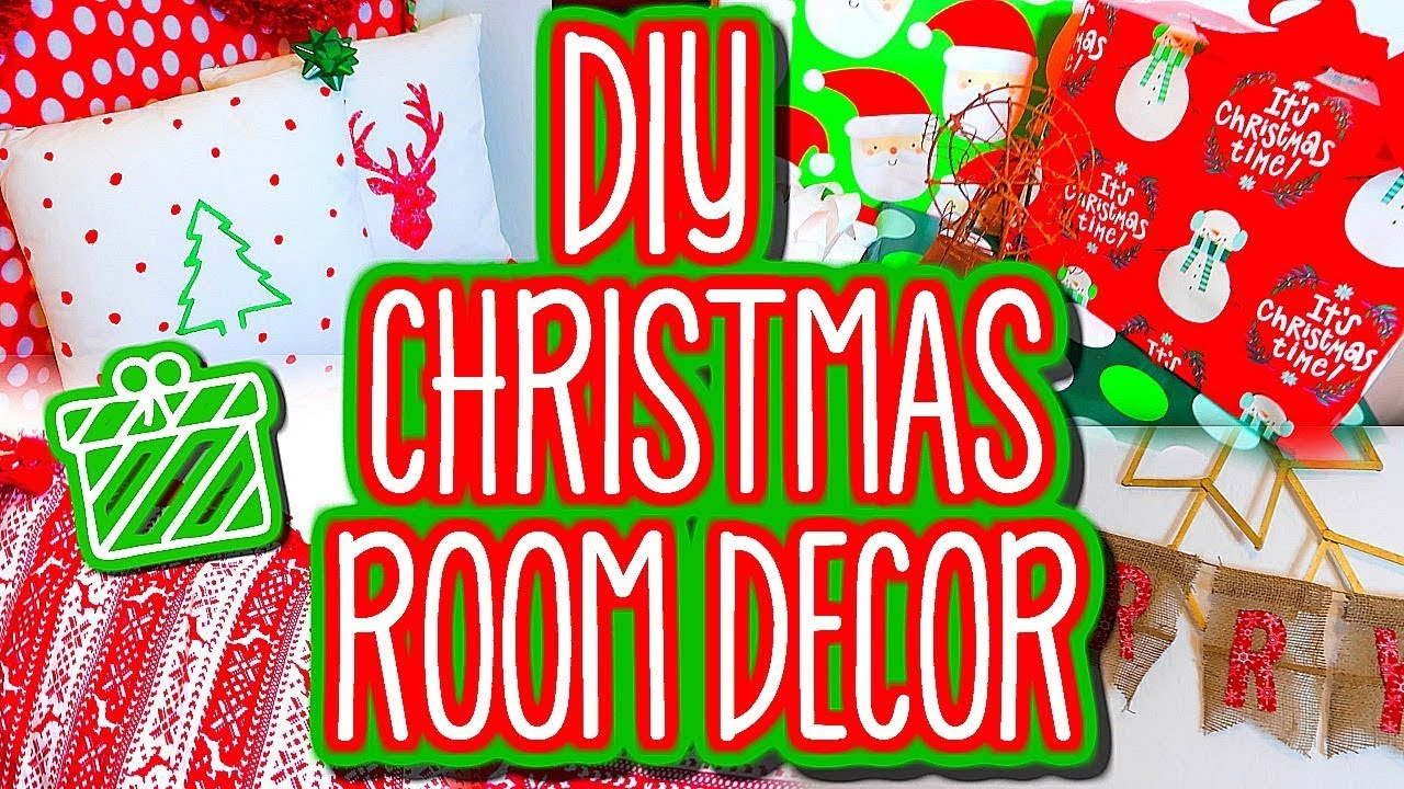 Christmas Room Decor Diys Easy Cute How To Make Your Room More Festive For The Holidays Youtube