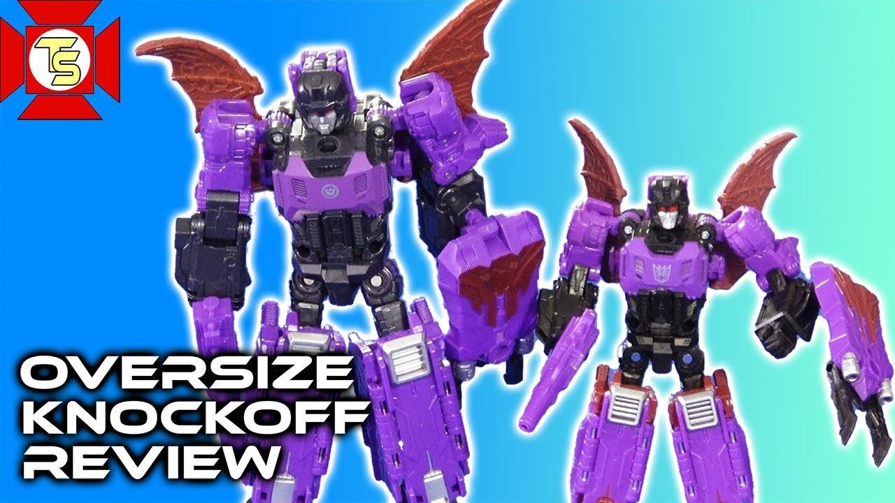"Oversized Transformers G1 Headmasters Mindwipe Action Figure 7/"" Toy"