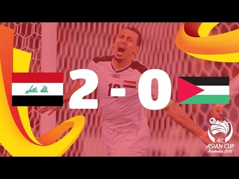 Iraq V Palestine: AFC Asian Cup Australia 2015 (Match 24)