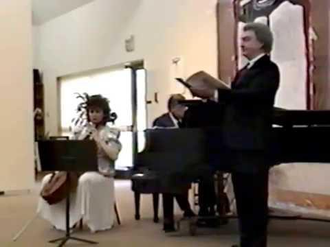 Ronald Hedlund sings Mozart's concert aria Per questa bella mano