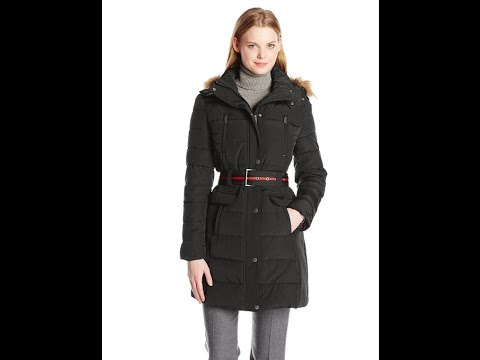 Womens Winter Coats | Tommy Hilfiger Women's Belted Coat