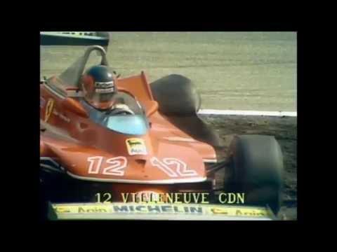 Gilles Villeneuve Drives With 3 Wheels - Dutch Grand Prix 1979
