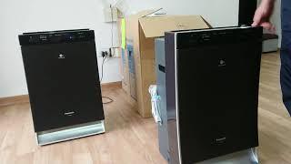 Đánh giá máy lọc không khí panasonic F - VXS90