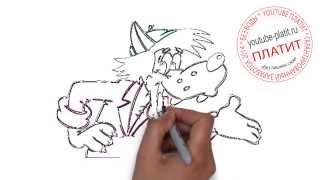 Ну погоди 2014  Как правильно рисовать Ну погоди поэтапно карандашом за 47 секунд(Ну погоди. Как правильно нарисовать волка или зайца из мультфильма Ну погоди поэтапно. На самом деле легко..., 2014-09-11T16:48:41.000Z)