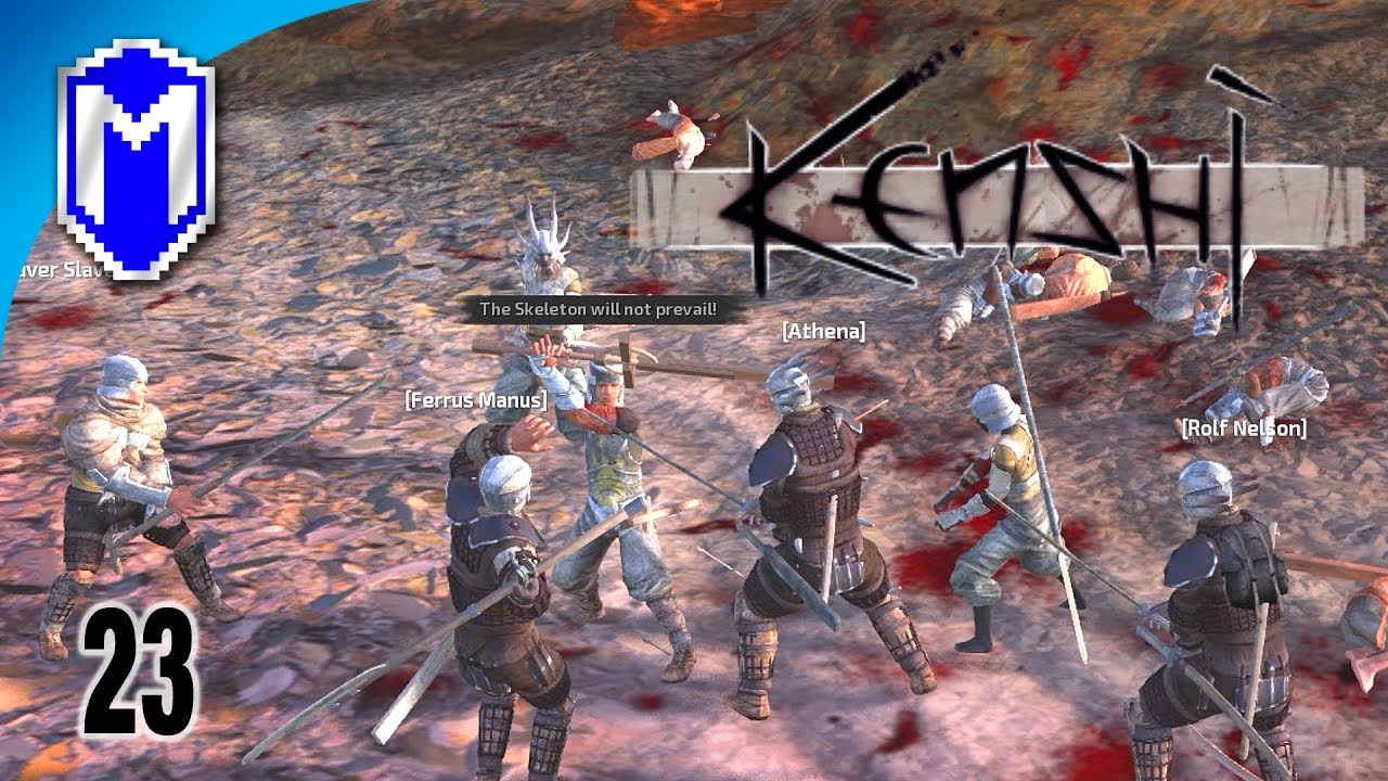 Fighting The Holy Nation, Heading Out To Bast - Let's Play Kenshi Mods  Gameplay Ep 23