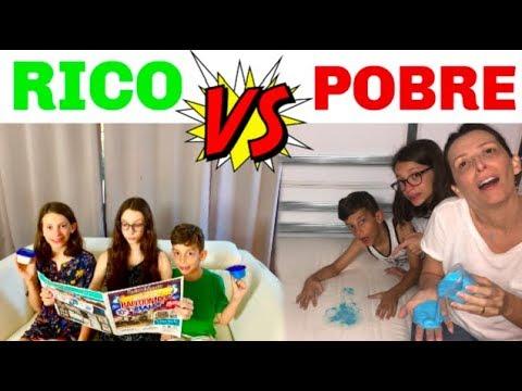 NOVELINHA RICO VS POBRE COMPRANDO NA LOJINHA DE SLIME FAMILY FUN 5 #3