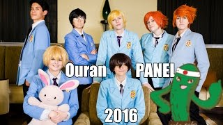 So I finally got to do an Ouran panel with some of my friends, I've...