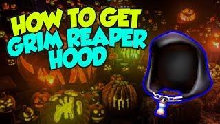 [ÉVÉNEMENT] How To Get the Grim Reaper Hood - Roblox Halloween 2018