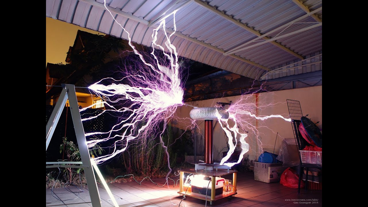 Large Homemade Tesla Coil In Singapore Tesla Coil 2 Mk