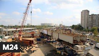 Фото Собянин осмотрел ход строительства станции Печатники МЦД-2: \