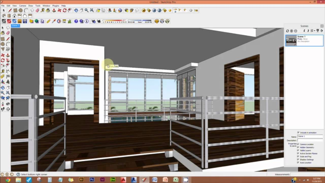 Create Rectangular Light In Vray Sketchup - Lessons - Tes Teach