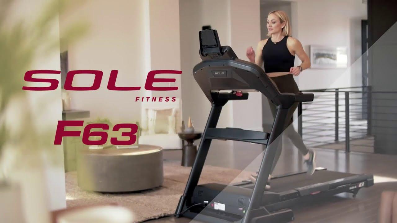 Sole Fitness F63 Treadmill - YouTube