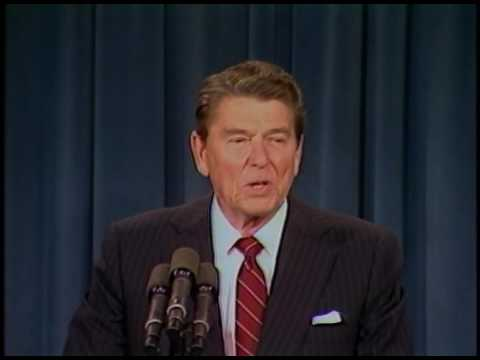 President Reagan's Remarks for The Grace Commission on February 25, 1985